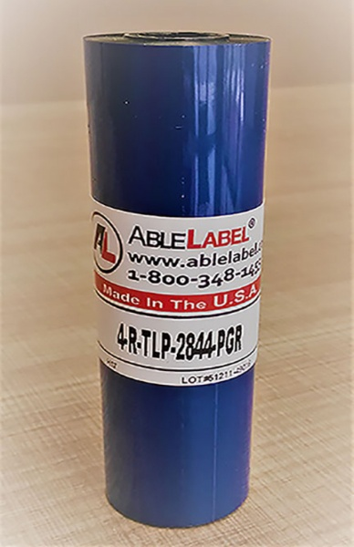 "4.33"" x 243' Black Wax/Resin Ribbon for Zebra TLP Printer"