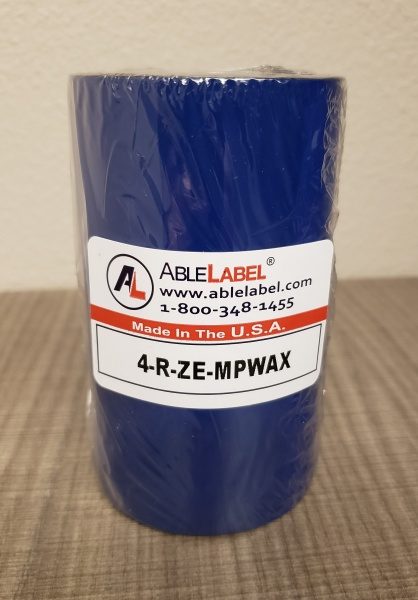 able-label-4-black-wax-economy-coated-side-out-zebra-compatible-ribbon