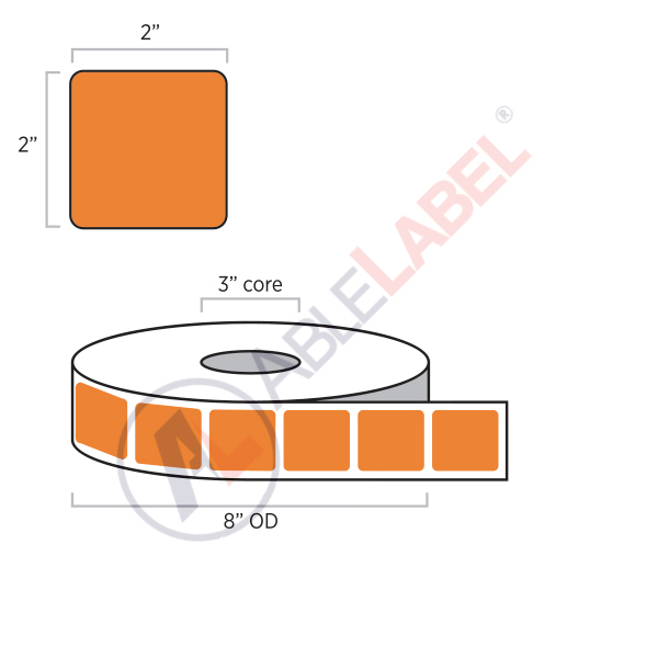 able-label-2-by-2-flood-orange-label