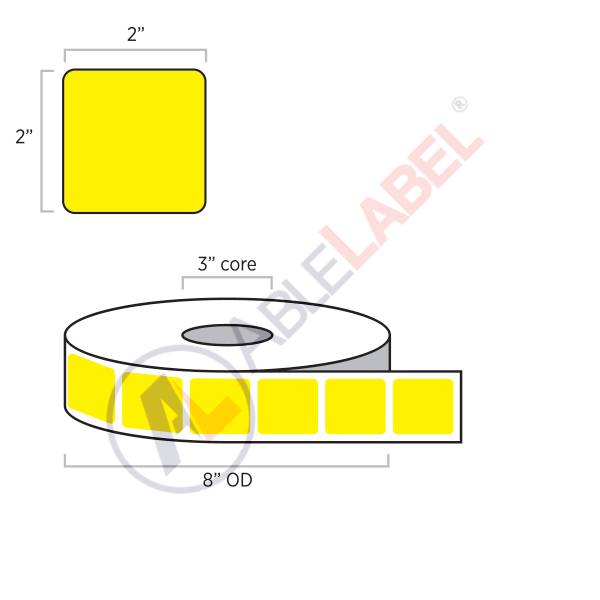 able-label-2-by-2-flood-yellow-label