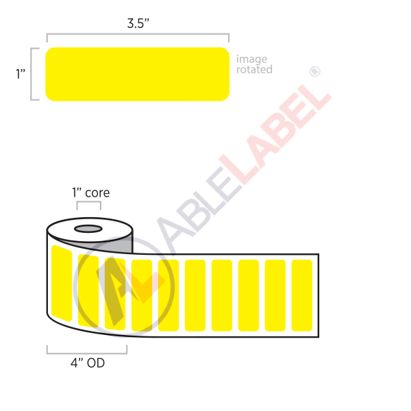 able-label-3-and-a-half-by-1-flood-yellow-label-wound-on-4-inch-outside-diameter-by-1-inch-core