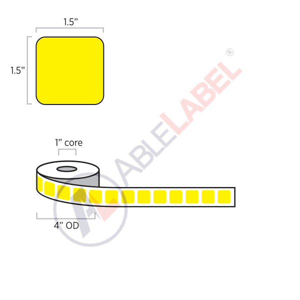 able-label-1-and-a-half-by-1-and-a-half-flood-yellow-label-wound-on-4-inch-outside-diameter-by-1-inch-core