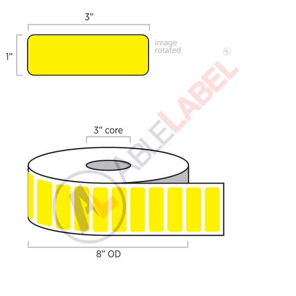 able-label-3-by-1-flood-yellow-label