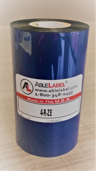 able-label-4-inch-black-wax-coated-side-out-zebra-compatible-ribbon