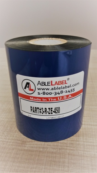 able-label-3-inch-black-wax-4-fifty-meters-coated-side-out-zebra-compatible-ribbon