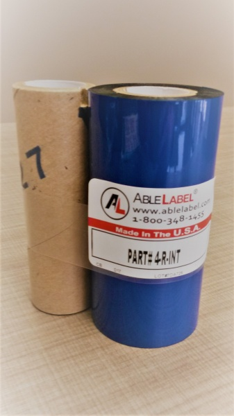 able-label-4-inch-black-wax-intermec-3400-compatible-coated-side-out-ribbon